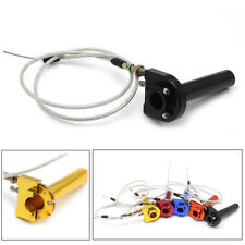 CNC Throttle turn Grip Quick Twister+Cable For Motorcycle,Scooter, ATV 50-125cc
