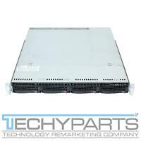 """Supermicro CSE-815TQC-R504WB X11SSW-F Intel LGA1151 V5/V6 1U 4x 3.5"""" Server CTO"""