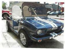 Golf Cart Car Mold for 65 Mustang body to fit club car ds