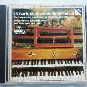 Bach: Concertos for 2 Harpsichords / Pinnock / Gilbert / DG Archiv CD 415 131-2