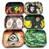 Cool Cigarette Rolling Tray Metal Prime Smoking Holder Trays  18cm/ 7*5.5in MC