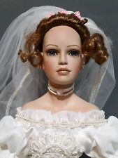 "VERY RARE PARADISE GALLERIES ""VICTORIA BRIDE"" PREMIERE EDITION PORCELAIN DOLL"