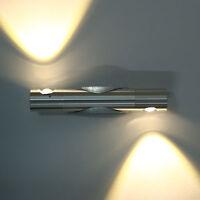 2W 360° girado Day blanco cálido LED luz de pared Lámpara Casa Iluminación Lamp