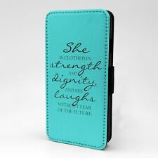 For Apple iPod Touch Flip Case Cover Saying Quote - A1230