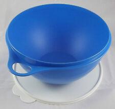 Tupperware B 06 Maximilian 4,5 l Schüssel Rührschüssel blau / weiß Neu OVP