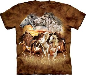 Find 15 Horses Horse T Shirt Adult Unisex The Mountain