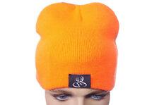 Buck Commander Mens Hunter Blaze Orange Buck Hunt Warm Winter Stocking Hat NEW