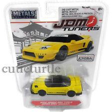 Jada JDM Tuners 2002 Honda NSX Type R Japan Spec Widebody 1:64 Yellow 14036