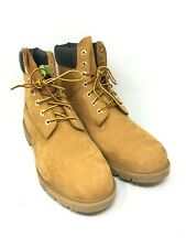 """TIMBERLAND Men's 6"""" Premium Waterproof Boots Wheat Color Size: 12 M"""