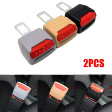 2PCS Safety Seat Belt Buckle Clip Extenders Car Safety Alarm Stopper Accessories