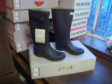HUNTRESS WELLIES WELLINGTONS  IN HALIFAX SIZE 7 NAVY TALL