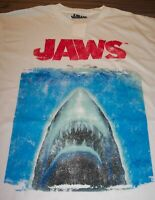 VINTAGE STYLE JAWS Movie T-Shirt SMALL Shark NEW w/ TAG