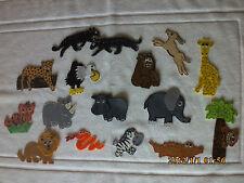 FELT BOARD/ STORY RHYME TEACHER RESOURCE - JUNGLE ANIMALS/NATURE/FOREST/WILD