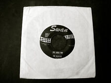 """1964 THE BEATLES FAB FOUR ~SHE LOVES YOU~SWAN 4152~BLACK LABEL 45-7"""" RPM RECORD"""
