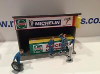 1:32 Scale Castrol Pit Building Ninco Scalextric Carrera SCX building