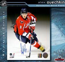 Alexander Ovechkin Signed Washington Capitals 8 x 10 Photo - 70502