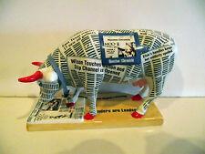 HOUSTON CHRONICOW LIMITED EDITION COW PARADE NO TAG NO BOX