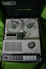 Vintage Recorder w/ Reels Channel Master  Microphone Model 6545 Japan