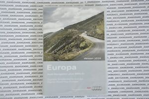 Germany Audi a3 a4 a6 RNS-E NAVIGATION PLUS SATNAV DVD East 2016 UK West Germany