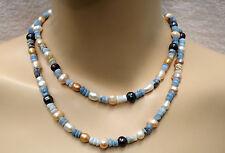 Unbehandelter Echtschmuck mit Opal-Halsketten aus für Damen