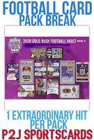 2020 Gold Rush Football Vault Pack Break🏈 1 RANDOM TEAM🏈 NFL🏈 P2J BREAK 3060