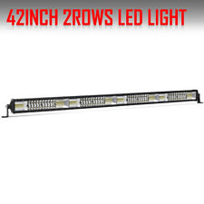 42inch 2720W LED Light Bar Spot Flood Combo Beam Driving Offroad Truck For JEEP