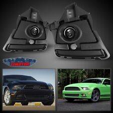 Fit Ford Mustang 13-14 Clear Lens Pair OE Fog Light Lamp+Wiring+Switch Kit DOT