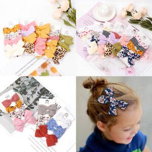 Baby Headwear Cute Hair Clips Accessories For Kids Children Hair Clip 4pcs set