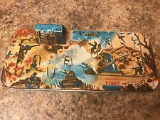 COMBAT TANK TIN Board Only TPS JAPAN Vintage Hard To Find
