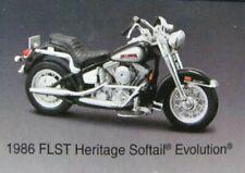 Maisto 1:18 Harley-Davidson Series 23   1986 FLST Heritage Softail  NRFB   black
