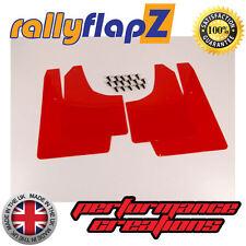 rallyflapZ SUZUKI IGNIS Sport 03-05 Mud Flaps Mudflaps Red Qty 4 (3mm PVC)