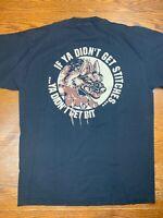 Vintage 90s Phoenix Arizona Police Brutality Black Shirt Sz XL K-9 Unit Dogs