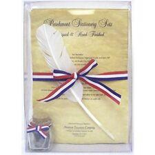 Parchment Stationary Set, Civil War Writing, New