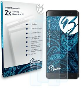 Bruni 2x Protective Film for Samsung Galaxy Note FE Screen Protector