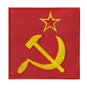 Badge Patch USSR Communist Party Soviet Thermal Adhesive Patch Transfer