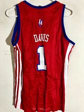5fe336920 Adidas Women s NBA Jersey Los Angeles Clippers Baron Davis Red ...