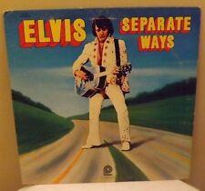 ELVIS - Separate Ways - LP Vinyl - 1972 Pickwick CAS 2611 -Vinyl LP record