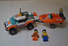 LEGO City 60012 Le transporteur du bateau du garde côtes - complet avec notice