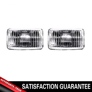 TYC Fog Driving Lights Lamp Assembly Left & Right 2PCS For Chevrolet S10 1982-97