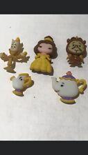 Beauty & The Beast Chip, Gaston, Belle Lefou Mrs Potts Children's Disney