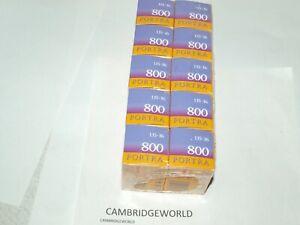 PORTRA 800 KODAK  35mm 36exp. COLOR NEGATIVE FILM FRESH 12/22 10 ROLLS in BOX