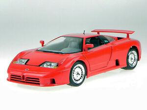 (Rare Red) 1991 Bburago Bugatti-EB110 GT 1:18 Die Cast (Made in Italy) In Box.