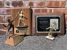 American Tap Dancer Paul Draper Collection Of Trophies And Award Plaques