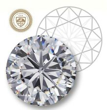 GIA Certified Round 0.58-Ct P-Color I2-Clarity F-Cut 5.56 mm, Natural Diamond