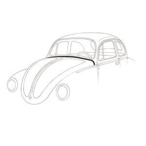 VW Beetle Bonnet Skuttle Seal (Under Windscreen Only)