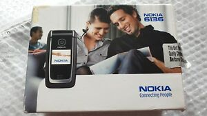 Nokia 6136 - Black (Unlocked) Mobile Phone