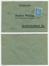 83237 - Beleg Staatslotterie - Bischheim-Gersdorf 2.11.1931 nach Großröhrsdorf