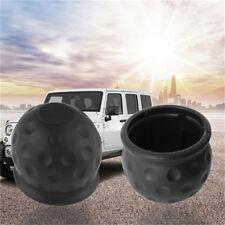 Durable Rubber Tow Ball Bar Towing Protect Towbar Towball Cap Cover Black D