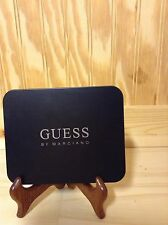 GUESS BY MARCIANO MENS LEATHER PASSCASE WALLET (BROWN) NWT