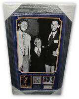 Kareem Abdul Jabbar John Wooden Bill Walton Hand Signed Auto 13x19 Photo Framed